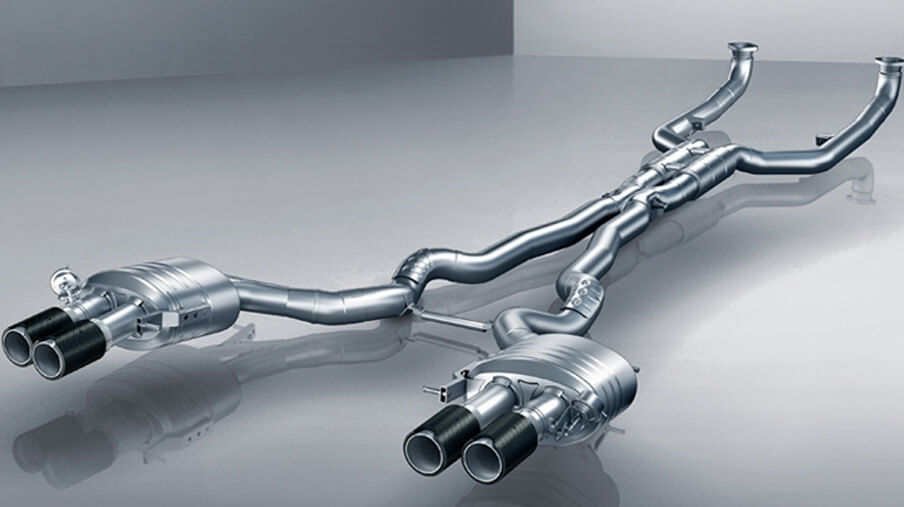 M5 M Performance Exhaust
