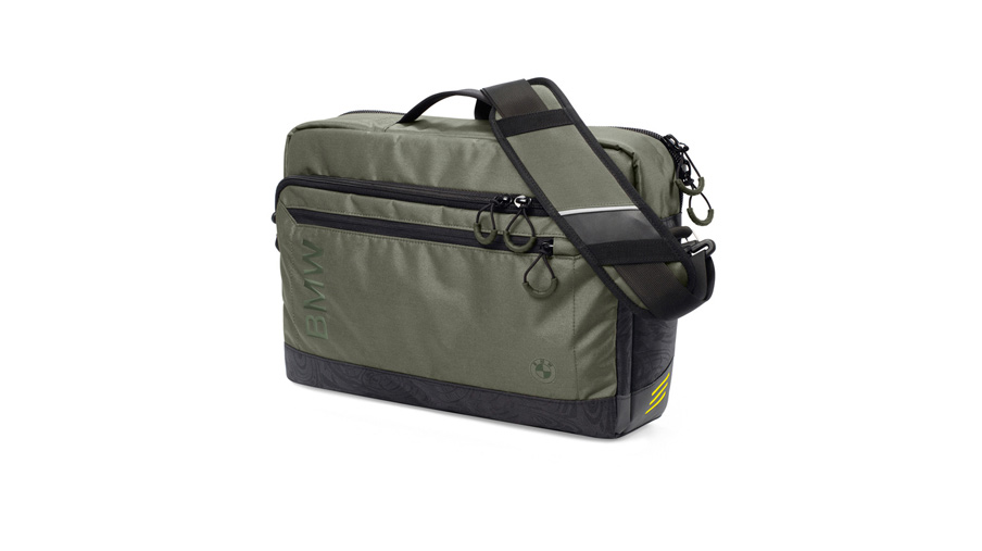 BMW Active Functional Messenger Bag.